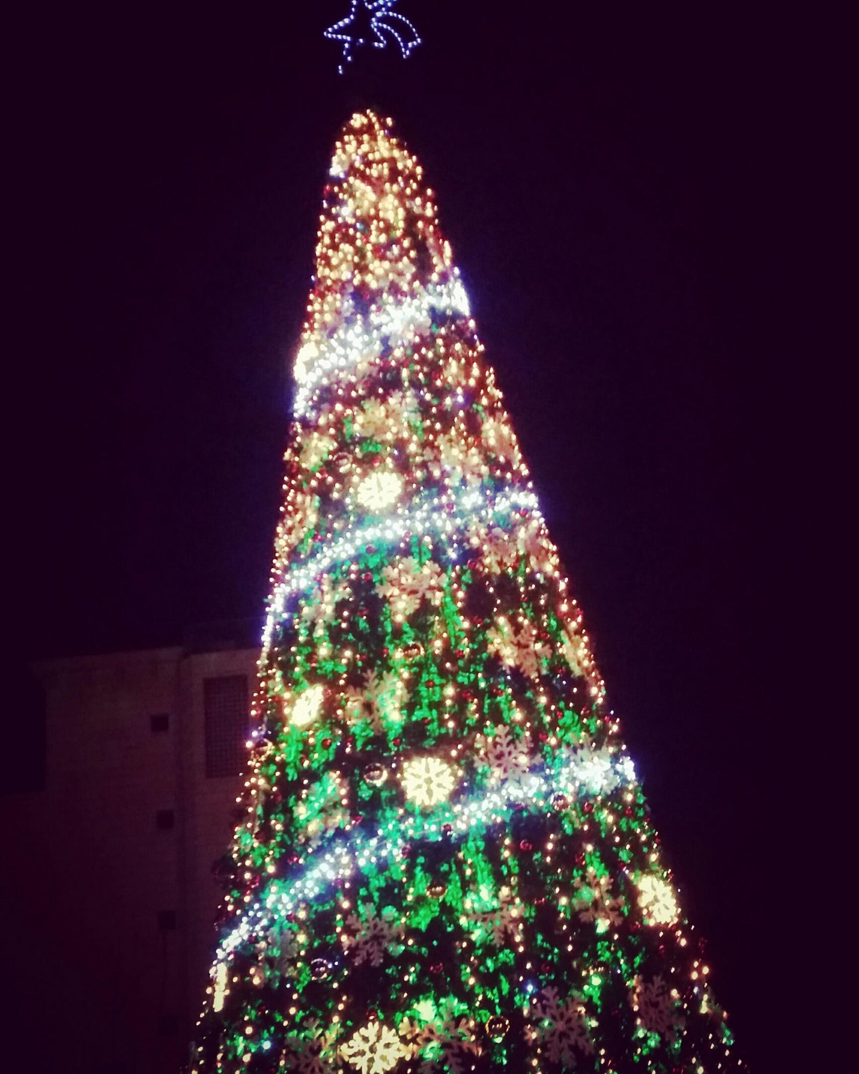 arbre de lumière